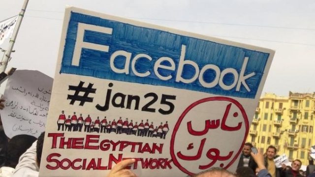 réseaux sociaux egypte