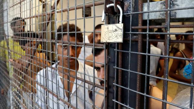 migrants séquestrés libye