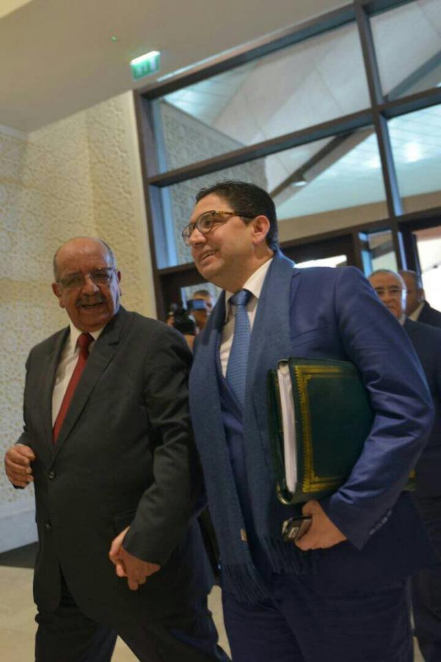 Messahel et Bourita