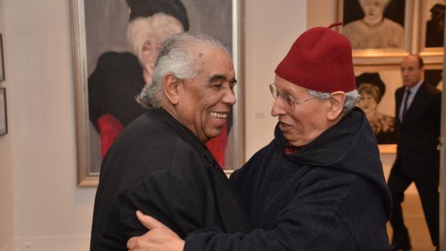 Hossein Tallal et Hassan Satour