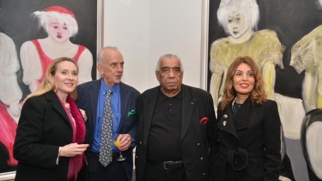 Real Lassard, Hossein Tallal et Rabia Arrousi