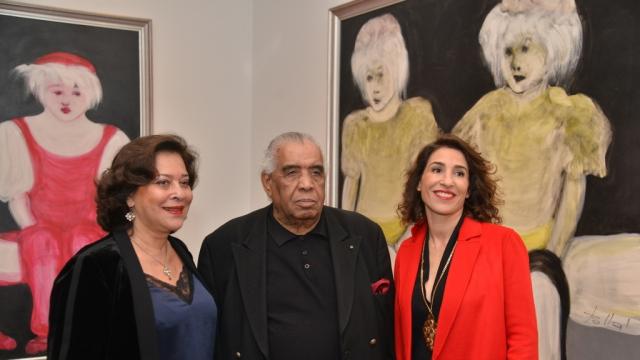 Aicha Amor, Hossein Tallal et Nadia Amor