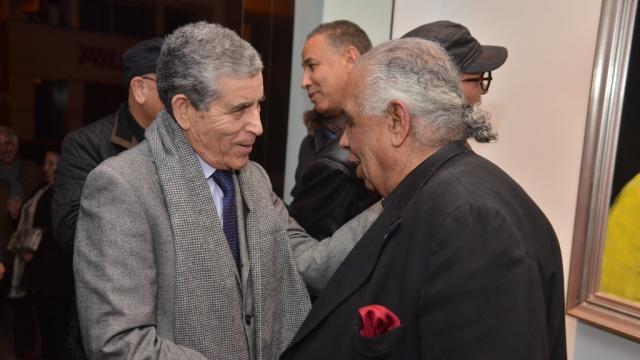 Le Général Belkadem et Hossein Tallal