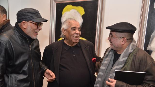 Abdelkebir Rabir, Hossein Tallal et Mahi Binebine