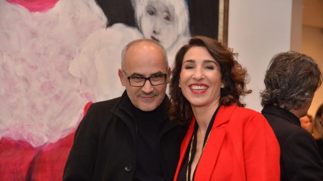 Mohamed El baz et Nadia Amor