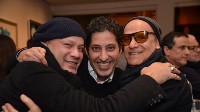 Ilyas Selfati, Mohamed Chaoui et Abdelhai Laraki