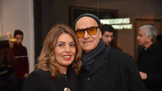 Rabia Arroussi et le cinéaste Abdelhai Laraki