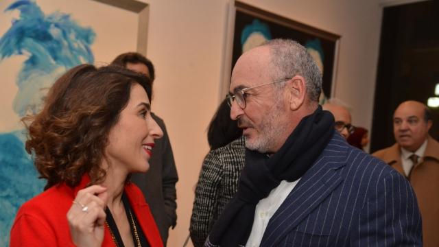 Nadia Amor et Rachid Lazrak