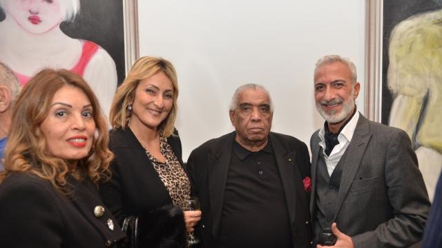 Rabia Arroussi, Stephanie Cohen, Hossein Tallal, Edmond Cohen