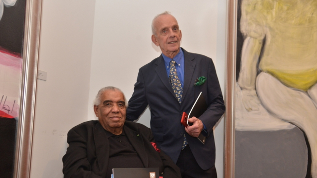 Hossein Tallal et Real Lessard