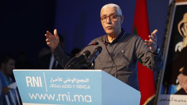 Aziz Akhannouch RNI beni Mellal-2