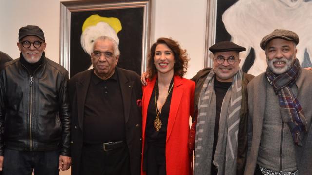 Abdelkebir Rabi, Hossein Tallal, Nadia Amor, Mahi Binebine, Mohamed Mourabiti