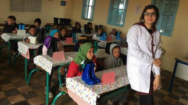 Enseignante de Sidi Bennour