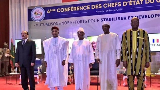G5 Sahel Présidents