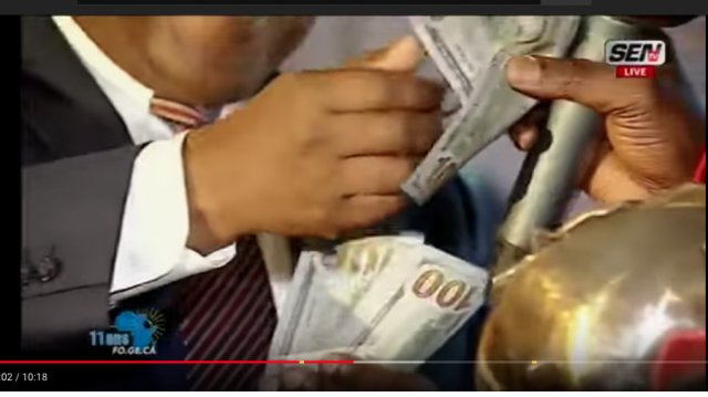Vidéo. Sénégal: un riche Sud-Africain distribue des milliers de dollars lors d'une soirée à Dakar