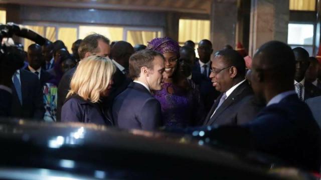 Diapo. Ballet de chefs d'Etat et de leaders mondiaux à Dakar