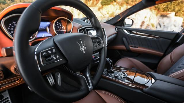 Maserati Ghibli intérieur