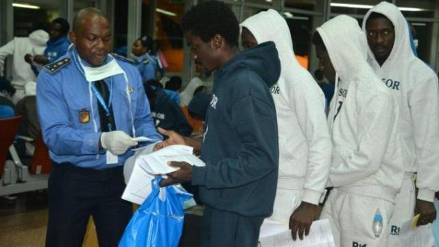 migrants camerounais