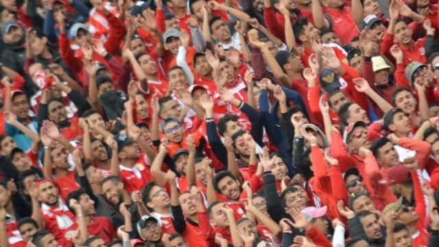 Public Wydadi à la Super Coupe