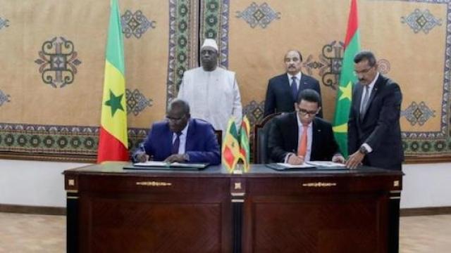 Mauritanie-Sénégal Gaz