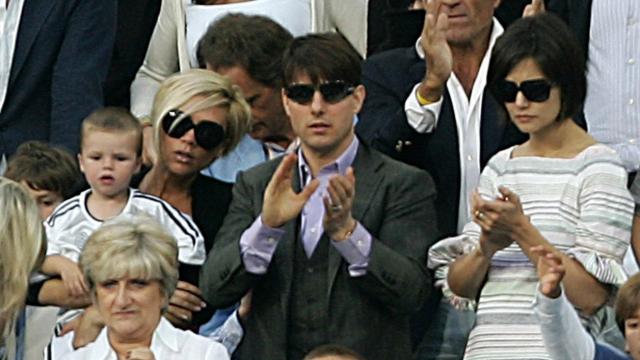 Tom Cruise au Bernabeu