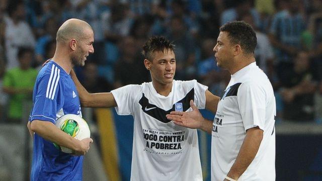 Zidane, Neymar et Ronaldo9