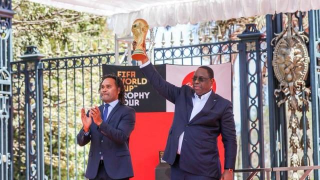 Coupe du monde, le trophée au Sénégal