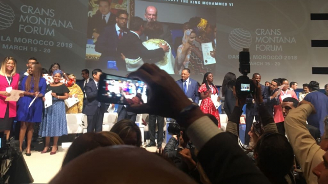 Crans Montana: Distinction Moustapha Cissé Lo-7