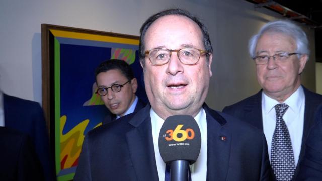 François Hollande au Musée Mohammed VI-2