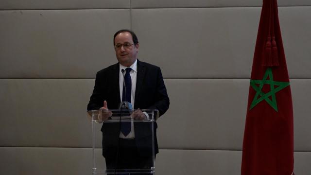 François Hollande au Musée Mohammed VI-3