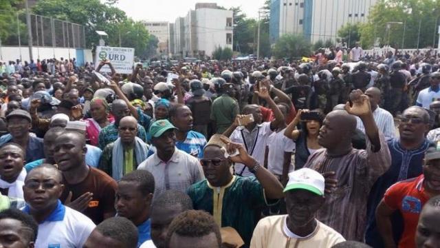 Marche de l'opposition sénégalaise
