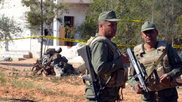 Militaires tunisiens