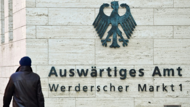 Ministère allemand des Affaires étrangères