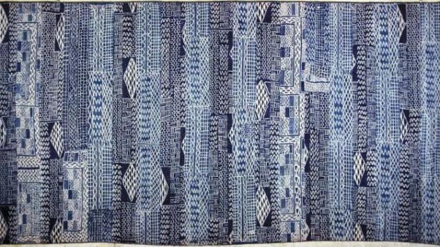 le Ndop ce carré de tissu qui inspire Hermès
