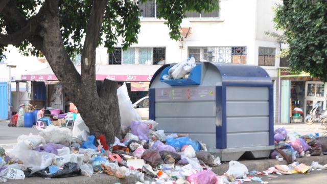 poubelles casablanca