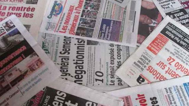 presse camerounaise