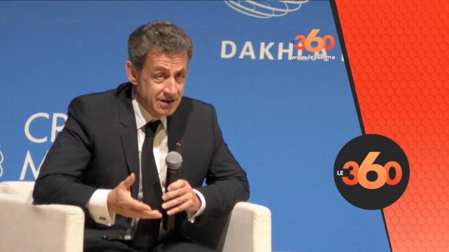cover Video - Le360.ma •Sarkozy à Dakhla regrette la fermeture des frontières avec l'Algérie