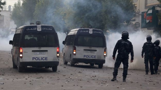 Tunisie-police
