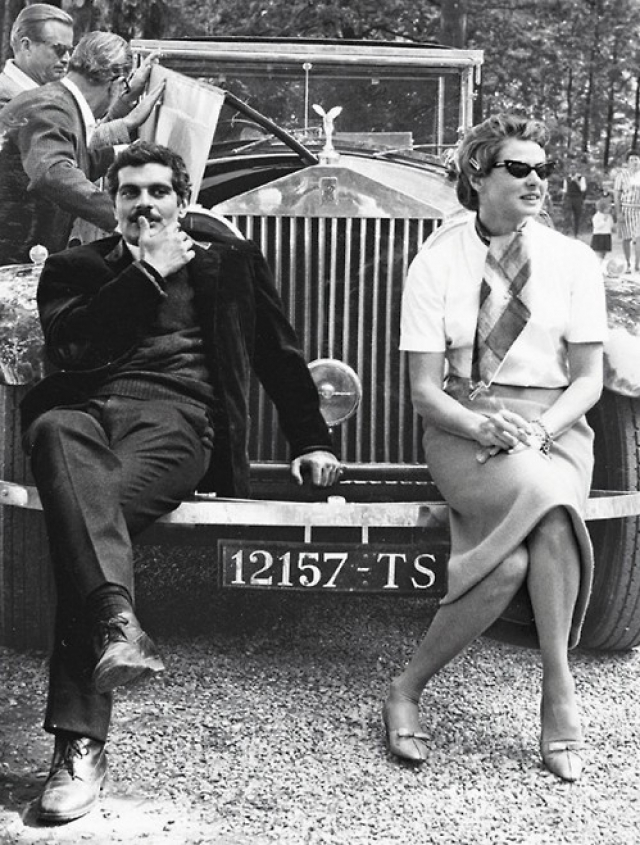 Omar Sharif Ingrid Bergman