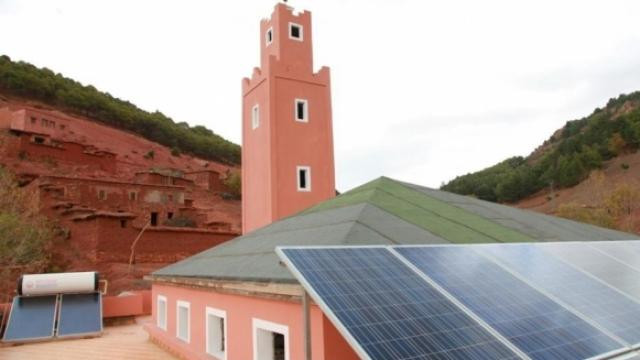 Mosquée verte maroc