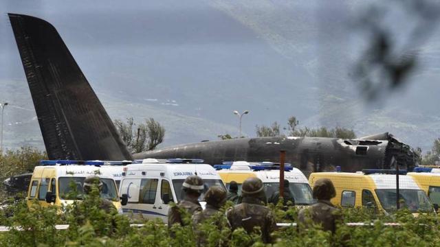 Crash Avion algérien