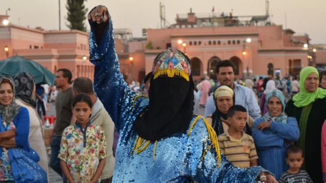 Danseuse marrakech