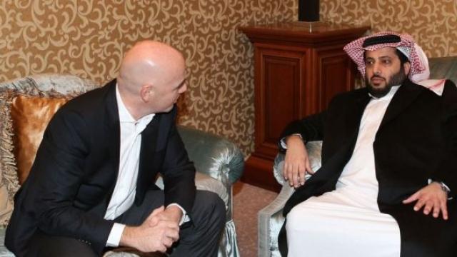 Infantino et Turki Al Sheikh