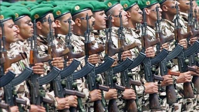Militaires marocains