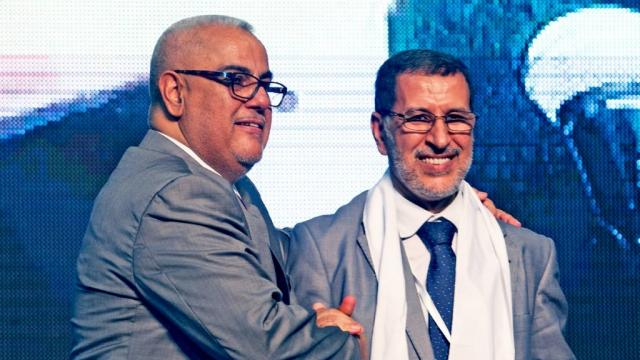 Abdelilah Benkirane Saad Eddine el Othmani