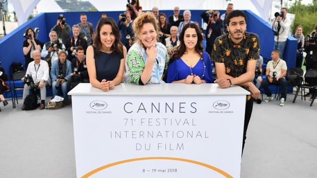 Cannes, l'équipe de Sofia