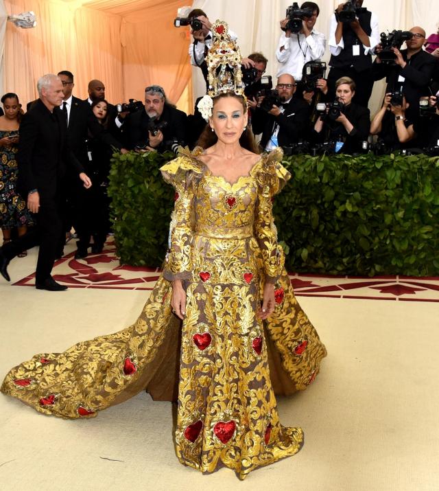 Sarah Jessica Parker en Dolge & Gabbana