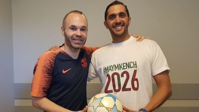 Iniesta Maymkench 2026