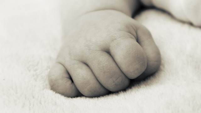 Main de bébé