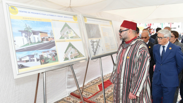 Ramadan Mohammed VI Inauguration INDH action sociale